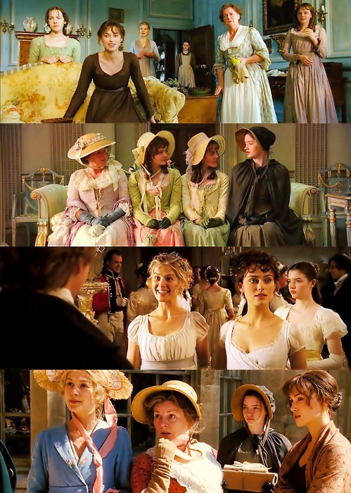 Pride and Prejudice inspiration