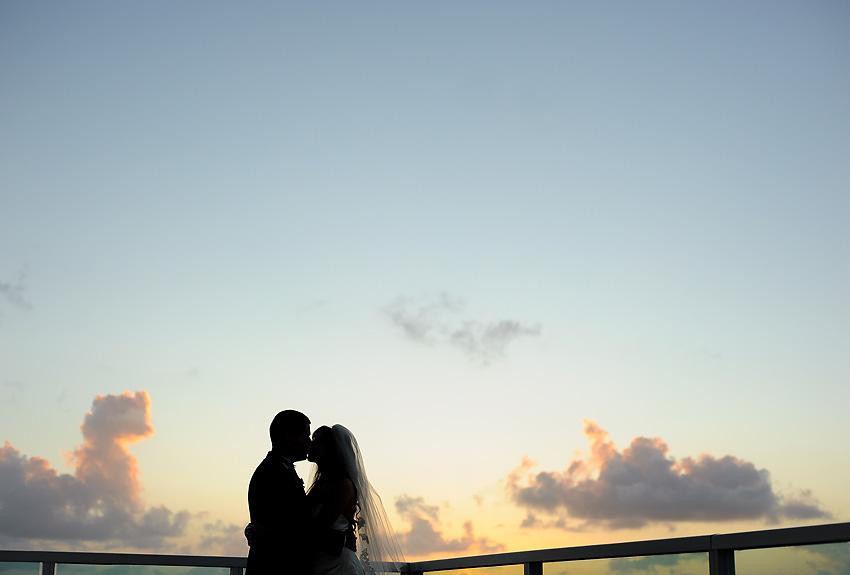 Sonesta Hotel wedding, Coral Gables wedding, bride and groom at Sonesta Hotel