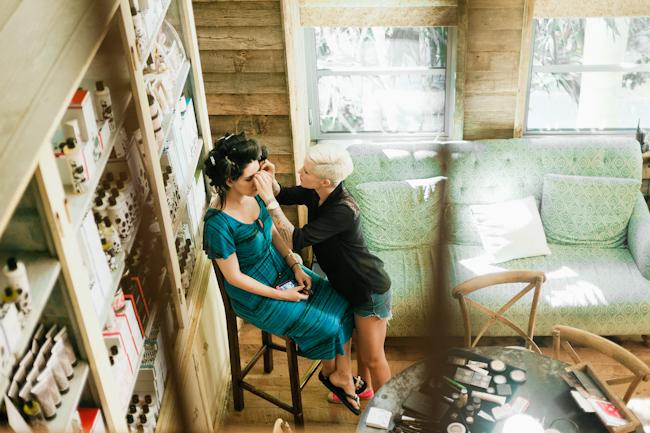NaydaErikwedding008 Erik and Nayda / a soho beach house wedding