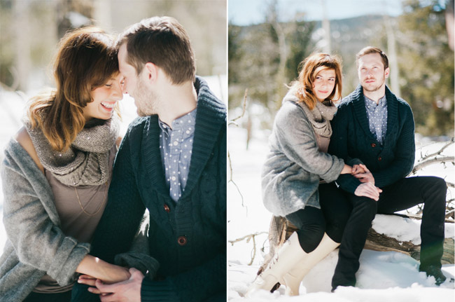 blog61 Demi and Cameron / Colorado engagement session