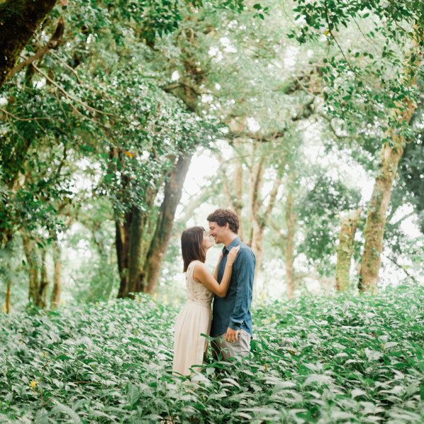 Fanny & Augustin / elopement in a Costa Rican forrest