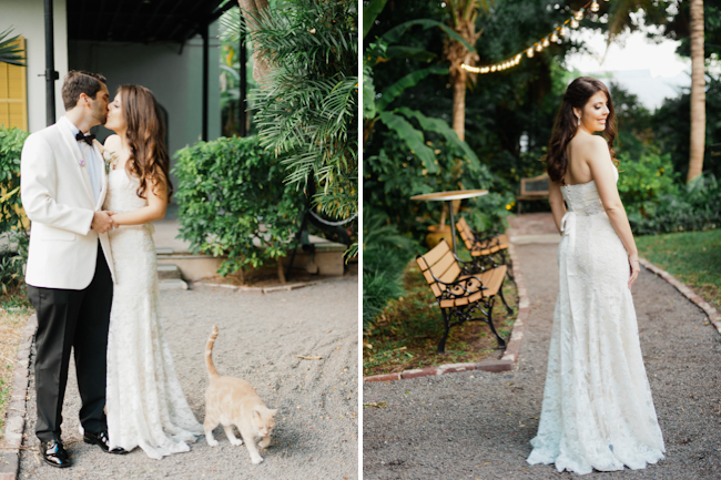 blog11 Chris and Emily // Ernest Hemingway house wedding