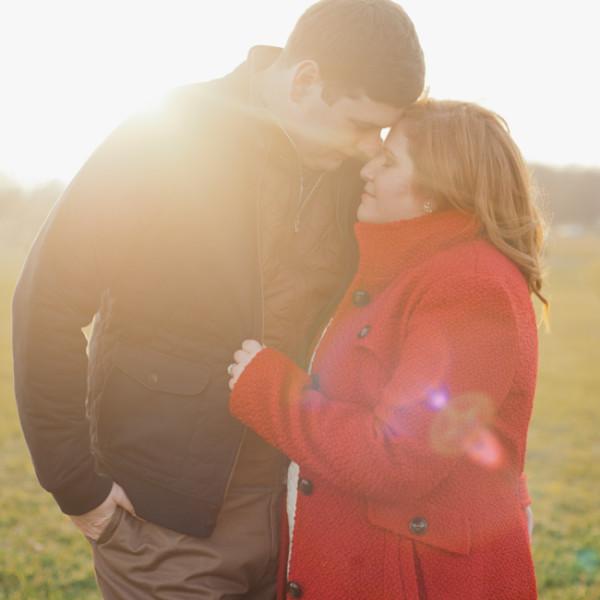 Stuart & Melanie / Washington D.C. engagement session