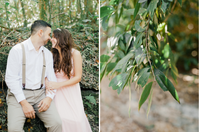 blog1 Mike and Mari // forest engagement session