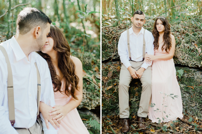 blog3 Mike and Mari // forest engagement session