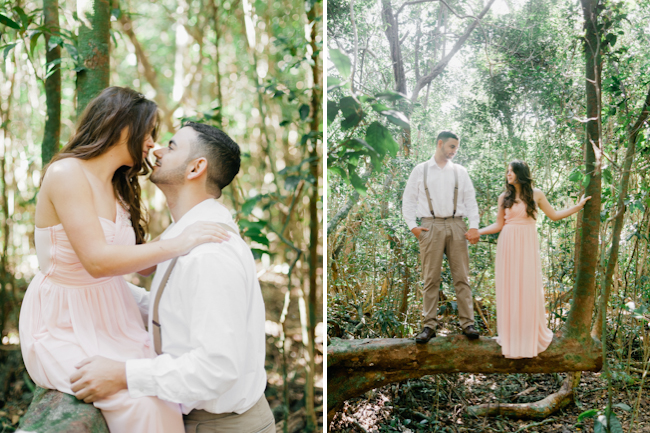 blog10 Mike and Mari // forest engagement session