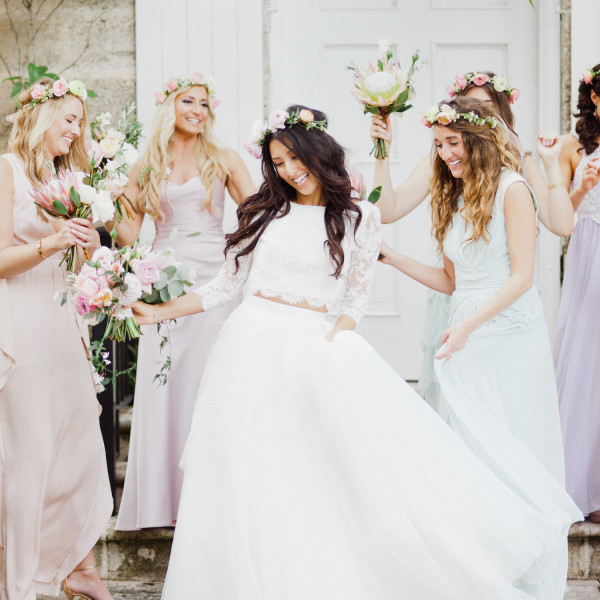 Alex & Brittney / wedding at Fairchild Tropical Gardens
