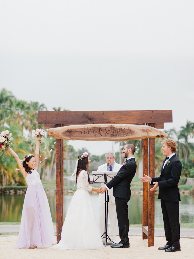 Alex and Brittney 286 Alex and Brittney // wedding at Fairchild Tropical Gardens