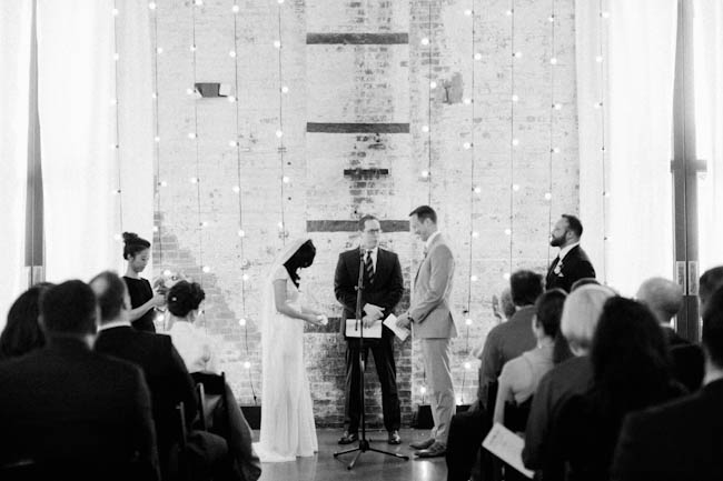 Wedding at the Green Building in Brooklyn, New York