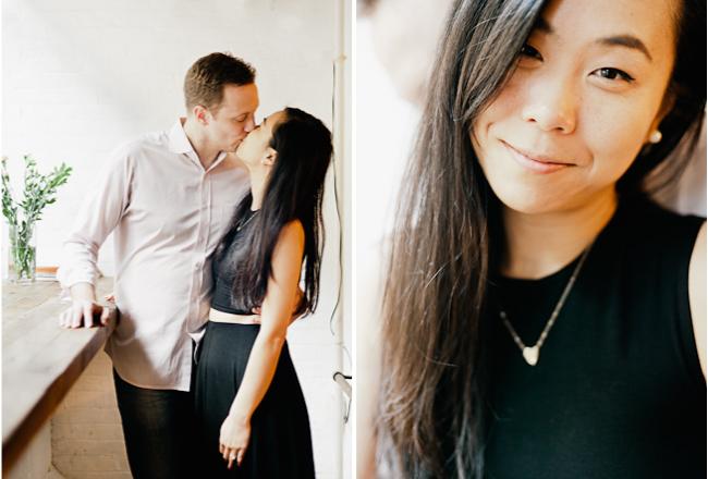 blog15 Drew & Jen / Manhattan coffee house engagement session