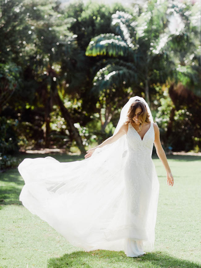 Wedding at Miami Beach Botanical Garden