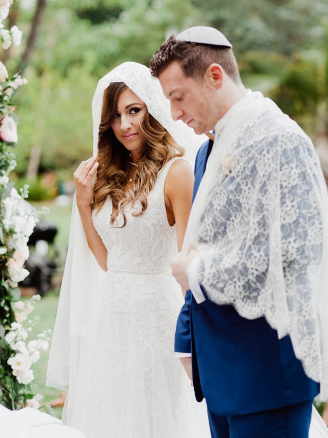 Boho Chic Miami Beach Botanical Garden wedding