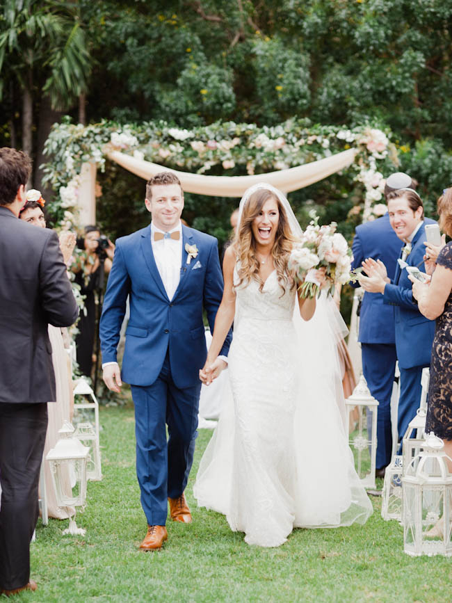 JBoho Chic Miami Beach Botanical Garden wedding