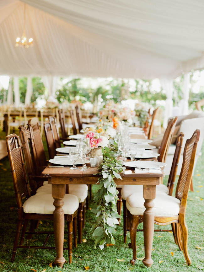 Superb ... Boho Chic Miami Beach Botanical Garden Wedding ...