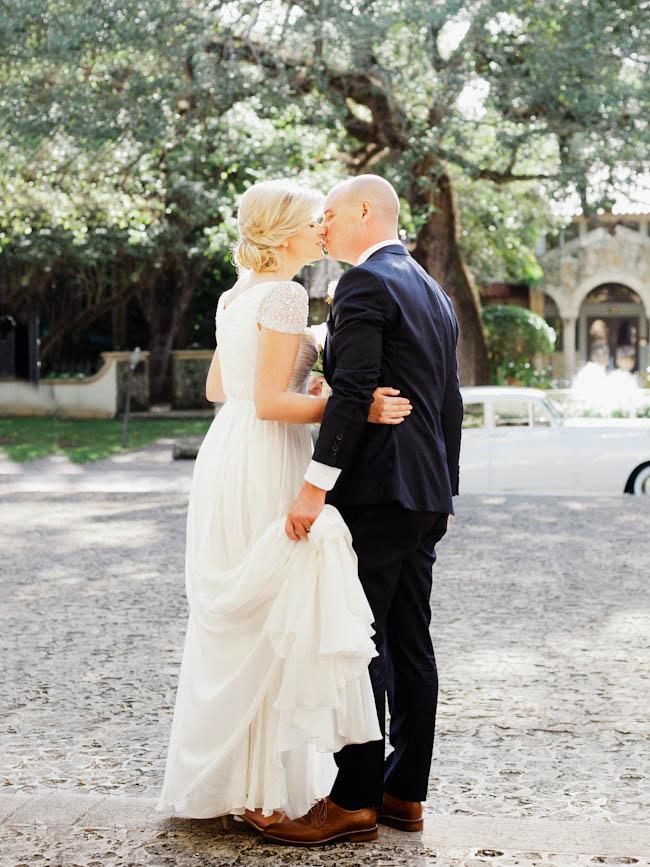 wedding at Plymouth congregational church in Miami, Florida