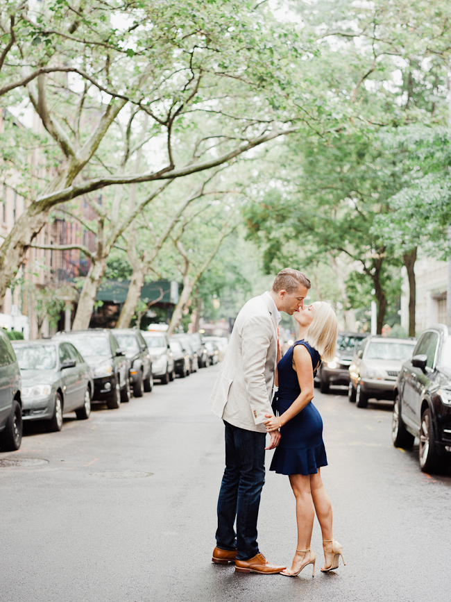 West village engagement session 007