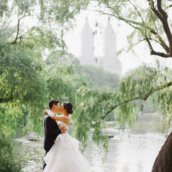 Allan + Erica / wedding at the Loeb boathouse in Central Park
