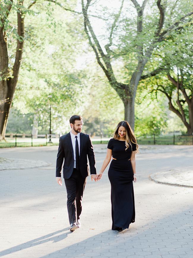 Central Park engagement session 011