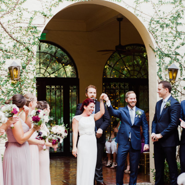 Jeff + Lindsey / wedding at Villa Woodbine