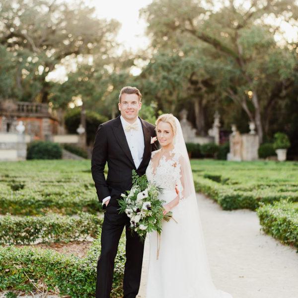Brette + Patrick / wedding at Vizcaya Gardens