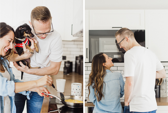 at home engagement session 013
