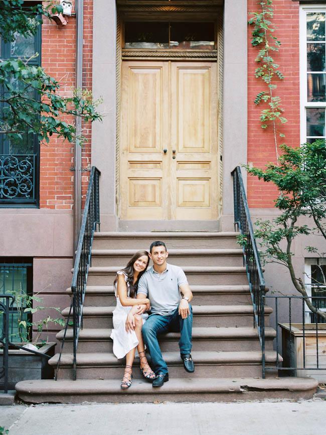 West Village engagement session 005