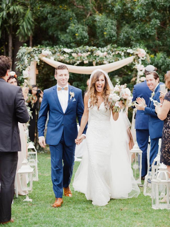 Jboho Chic Miami Beach Botanical Garden Wedding