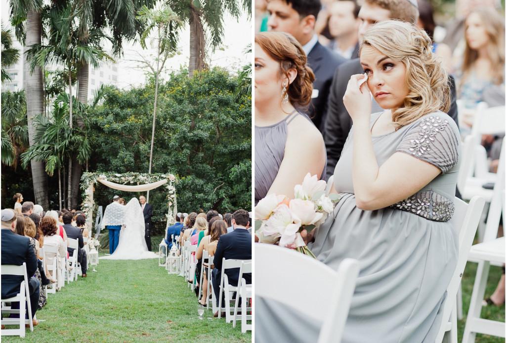 Boho Chic Miami Beach Botanical Garden Wedding